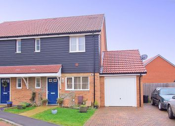 Thumbnail 3 bed semi-detached house for sale in Beam Close, Yapton