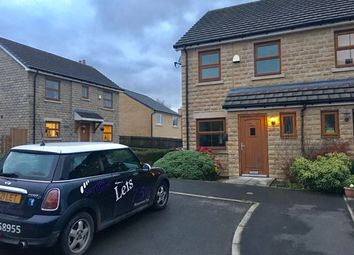 Thumbnail 2 bed end terrace house to rent in Rhodes Top, Padfield, Glossop
