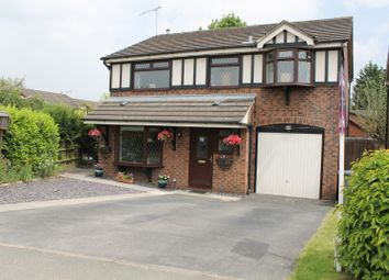 Thumbnail 4 bed detached house for sale in Grange Way, Sandbach