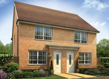"Thumbnail 2 bed semi-detached house for sale in ""Kendal"" at Nottingham Business Park, Nottingham"