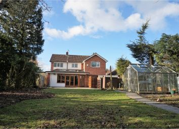Thumbnail 4 bed detached house for sale in Tysoe Hill, Leicester
