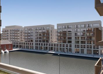 Thumbnail 3 bed flat for sale in Lockside Way, Royal Albert Wharf, London
