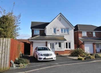 Thumbnail 4 bed detached house for sale in Sutton Close, Longtown, Carlisle