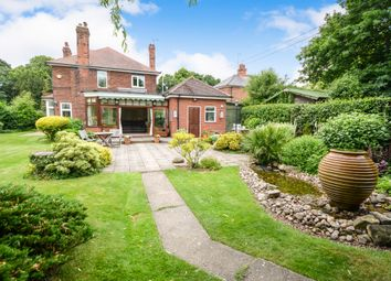 Thumbnail 3 bed detached house for sale in Great North Road, Barnby Moor, Retford