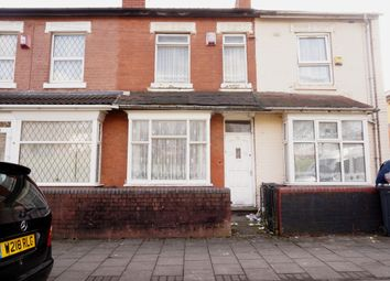 Thumbnail 2 bed terraced house for sale in Holliday Road, Handsworth, Birmingham