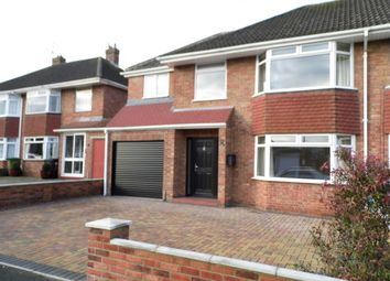 Thumbnail 4 bedroom semi-detached house to rent in Parklands Road, Swindon