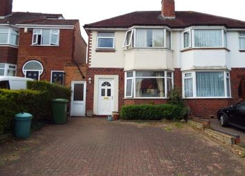 Thumbnail 3 bed semi-detached house for sale in Pierce Avenue, Solihull, West Midlands