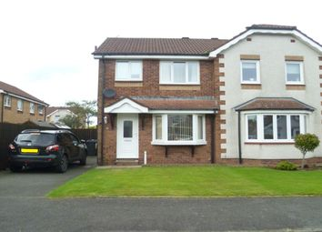 Thumbnail 2 bed semi-detached house to rent in Hunter Avenue, Heathhall, Dumfries