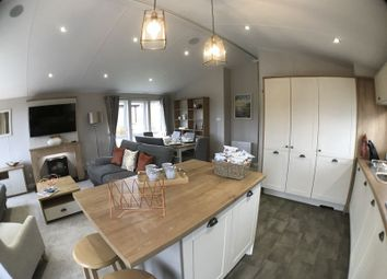 Thumbnail 3 bed mobile/park home for sale in White Acres Holiday Park, Newquay