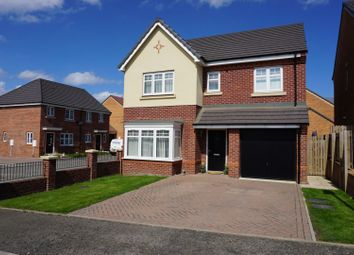 Thumbnail 4 bed detached house for sale in Aberford Drive, Houghton-Le-Spring