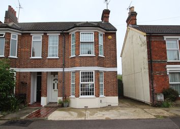 Thumbnail 3 bedroom semi-detached house for sale in Levington Road, Ipswich