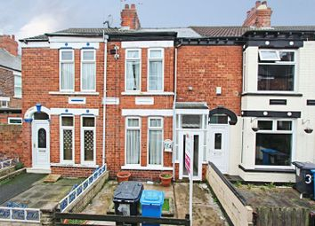 Thumbnail 2 bed terraced house for sale in Beaconsfield Gardens, Raglan Street, Hull