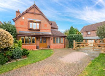 Thumbnail 3 bed detached house for sale in Quantock Court, Sleaford, Lincolnshire