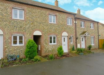 Thumbnail 3 bed terraced house to rent in Lavender Court, High Street, Northwold