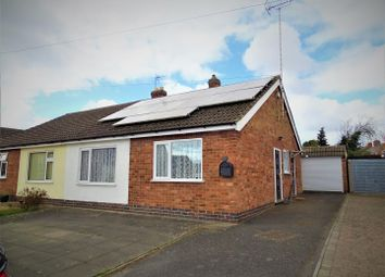 Thumbnail 2 bed semi-detached bungalow for sale in Cropston Road, Anstey, Leicester