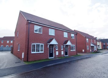 Thumbnail 3 bedroom semi-detached house for sale in Simpson Way, Wymondham