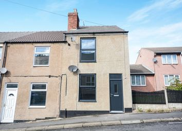 Thumbnail 2 bed end terrace house for sale in New Street, North Wingfield, Chesterfield