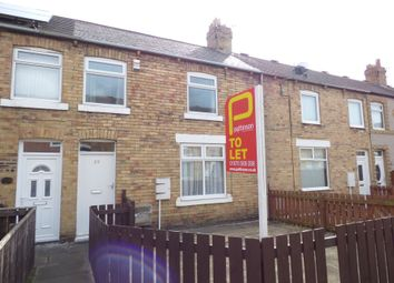 Thumbnail 2 bedroom terraced house to rent in Juliet Street, Ashington