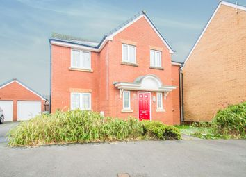 Thumbnail 4 bed detached house for sale in Druids Close, Caerphilly