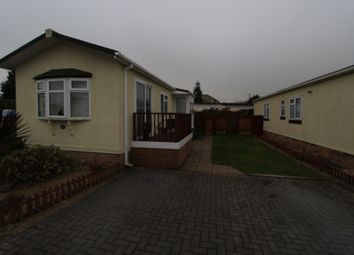Thumbnail 2 bed mobile/park home for sale in The Orchard Caravan Site, Staunton Lane, Whitchurch, Bristol