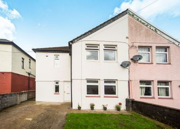 Thumbnail 3 bed semi-detached house for sale in First Avenue, Trecenydd, Caerphilly