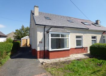 Thumbnail 3 bed semi-detached bungalow for sale in Oxcliffe Road, Heysham, Morecambe