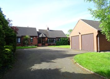 Thumbnail 3 bed detached bungalow for sale in West End, Long Whatton, Leicestershire