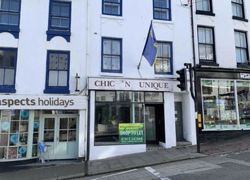 Thumbnail Retail premises for sale in 5, Albert Street, Penzance