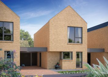 "Thumbnail 2 bedroom link-detached house for sale in ""The Caius"" at Whittle Avenue, Trumpington, Cambridge"