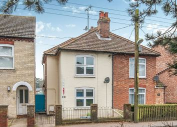 Thumbnail 2 bedroom semi-detached house for sale in Bury Road, Brandon