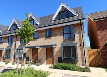 Thumbnail 3 bed terraced house for sale in Hudson Road, Upper Cambourne, Cambourne, Cambridge