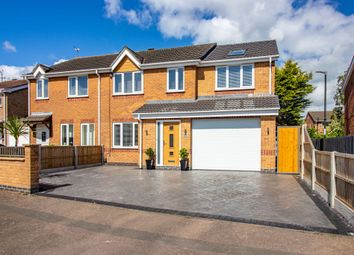 Thumbnail 4 bed semi-detached house for sale in Bosworth Way, Long Eaton, Nottingham