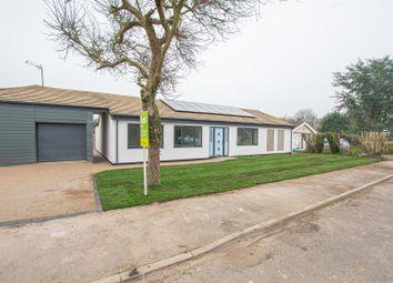 Offa Lea, Newton, Cambridge CB22. 4 bed detached bungalow for sale