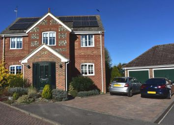 Thumbnail 4 bed detached house for sale in Aldbourne Close, Hungerford