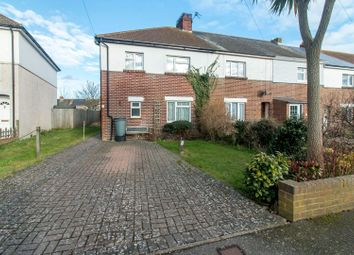 Thumbnail 3 bed end terrace house for sale in St. Martins Road, Folkestone