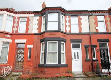 Thumbnail 3 bed terraced house for sale in Loreburn Road, Wavertree, Liverpool