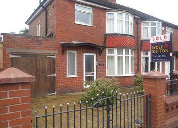 Thumbnail 3 bedroom semi-detached house to rent in Kenyon Lane, Moston, Manchester