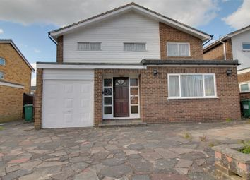 Thumbnail 4 bed detached house for sale in Langland Drive, Pinner