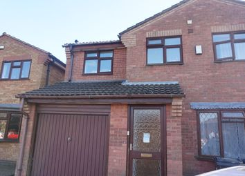 Thumbnail 1 bed detached house to rent in Statham Drive, Birmingham
