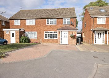 Thumbnail 3 bed semi-detached house for sale in Keppel Spur, Old Windsor, Windsor, Berkshire