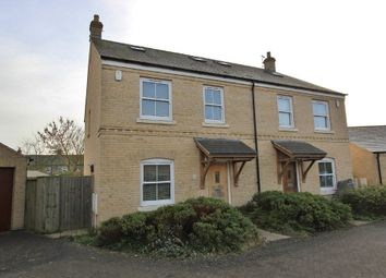 Thumbnail 3 bedroom semi-detached house for sale in Earith Road, Willingham, Cambridge