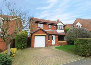 Thumbnail 4 bed detached house for sale in Dynevor Close, Bromham