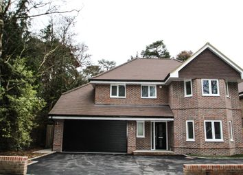 Thumbnail 4 bed detached house for sale in Roundway, Camberley, Surrey