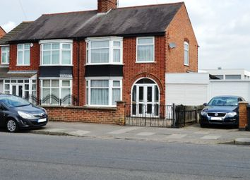 Thumbnail 3 bed semi-detached house for sale in Ethel Road, Leicester