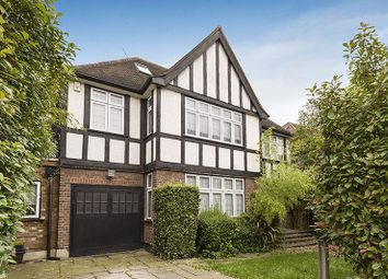 Thumbnail 6 bed detached house to rent in Sherwood Road, Hendon