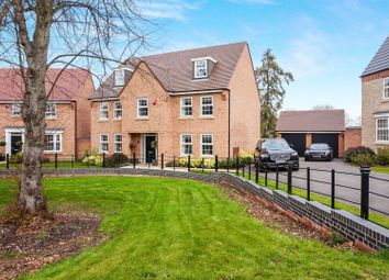 Thumbnail 5 bed detached house for sale in Henry Close, Worksop