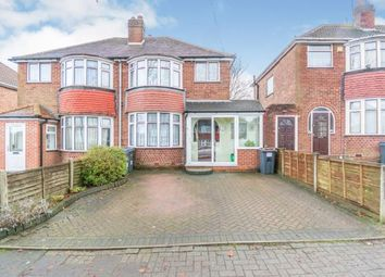 3 bed semi-detached house for sale in Gorsy Road, Quinton, Birmingham, West Midlands B32