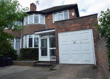 Thumbnail 3 bed semi-detached house for sale in Short Heath Road, Erdington, Birmingham