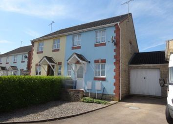 Thumbnail 2 bed semi-detached house for sale in Clover Close, Milkwall, Coleford
