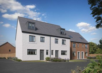 "Thumbnail 4 bed town house for sale in ""The Leicester"" at Church Road, Old St. Mellons, Cardiff"